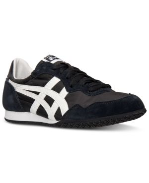 asics men's serrano le casual sneakers from finish line