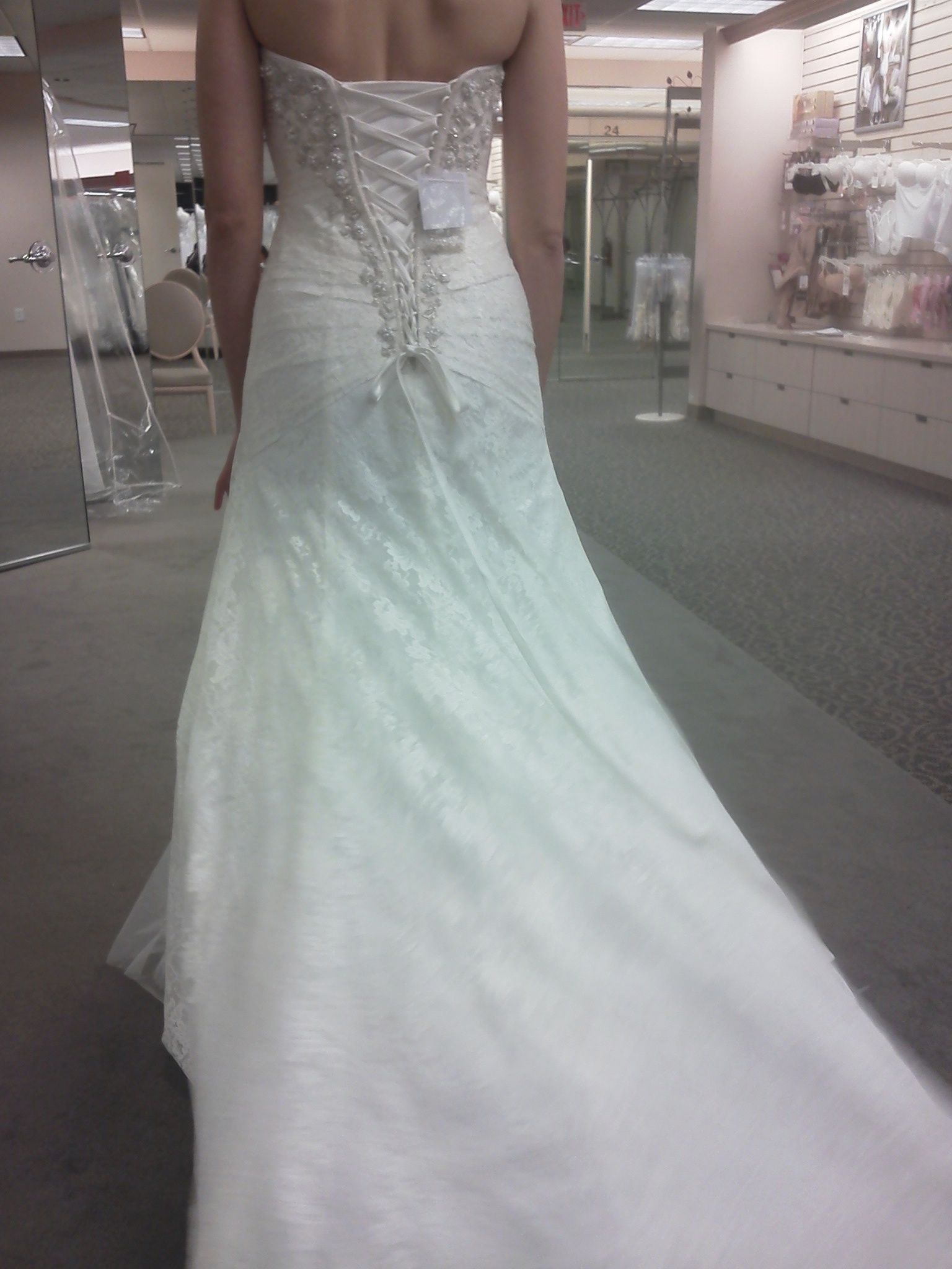 Chiffon Dresses: David\'s Bridal Yp3344