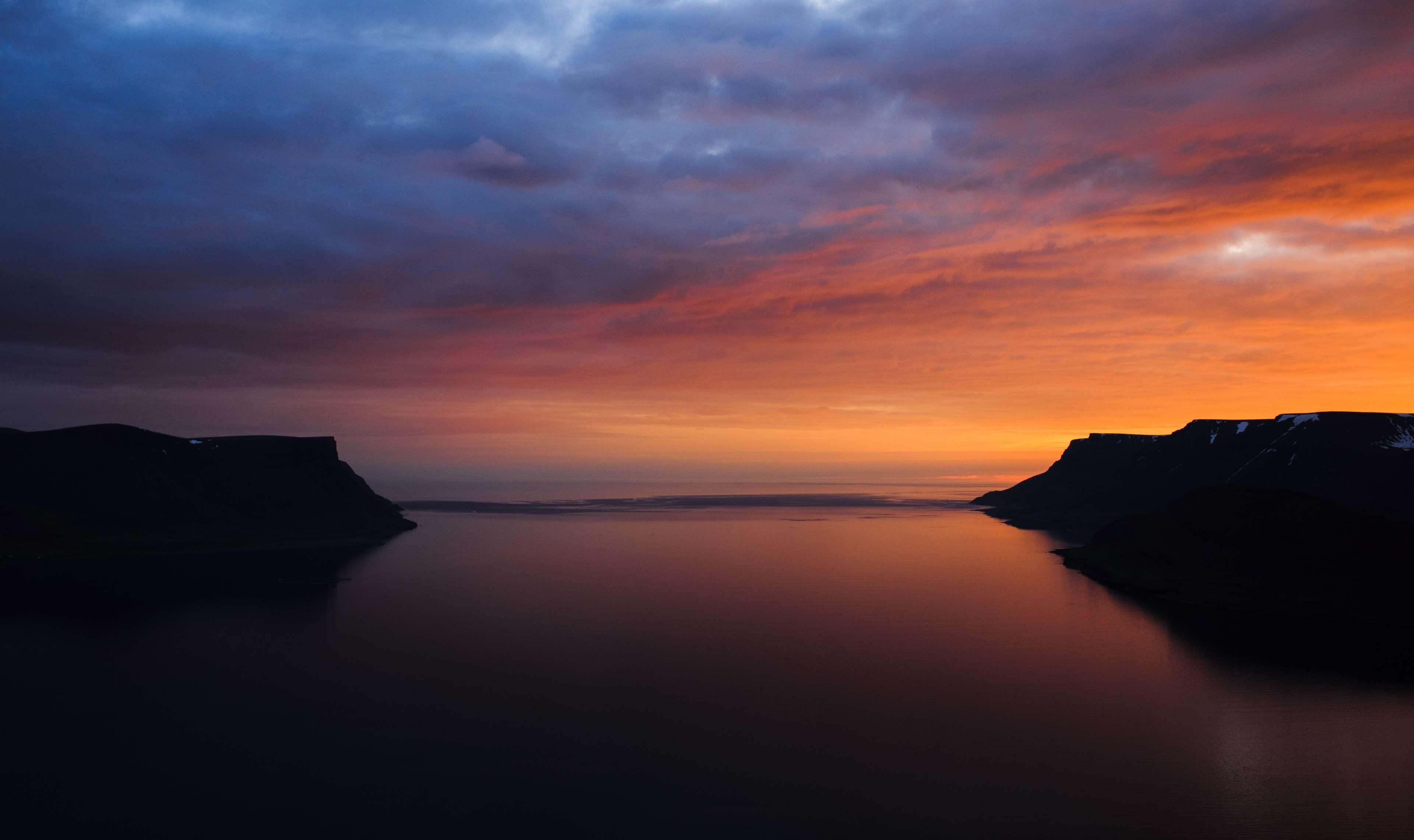 Black Blue Cliffs Landscape Ocean Orange Scenery Sunrise Sunset Water Landscape Photography Tutorial Landscape Photography Best Landscape Photography