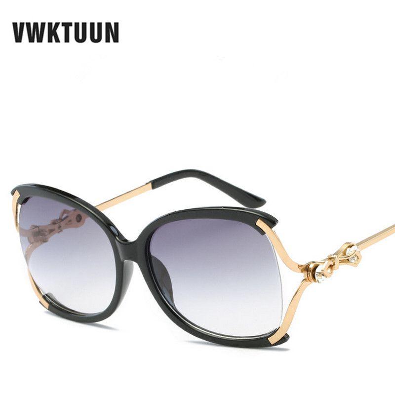 b615aa4543 VWKTUUN Oversized Sunglasses Women Fishing Driving Sunglass Butterfly  Glasses Vintage Oval Sun glasses For Women Brand Eyewear Bal k tutma yemler  salmon ...