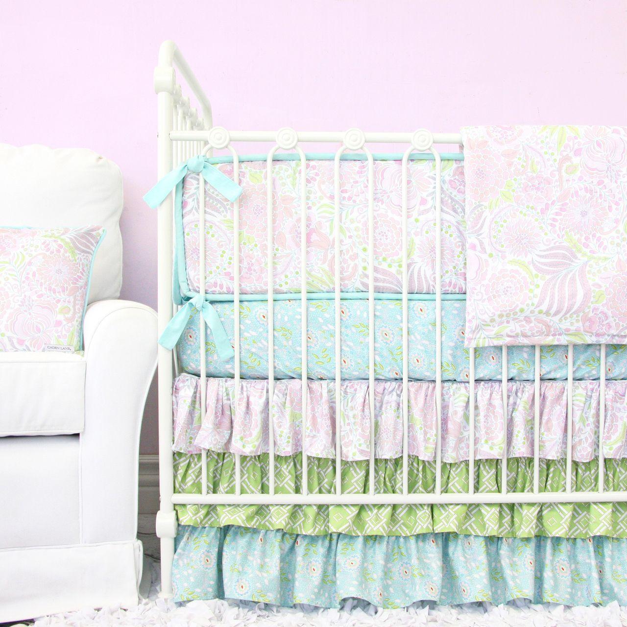 Pastel Baby Bedding Sets: Pastel Nursery Bedding