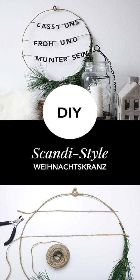 Photo of Christmas wreath DIY with saying
