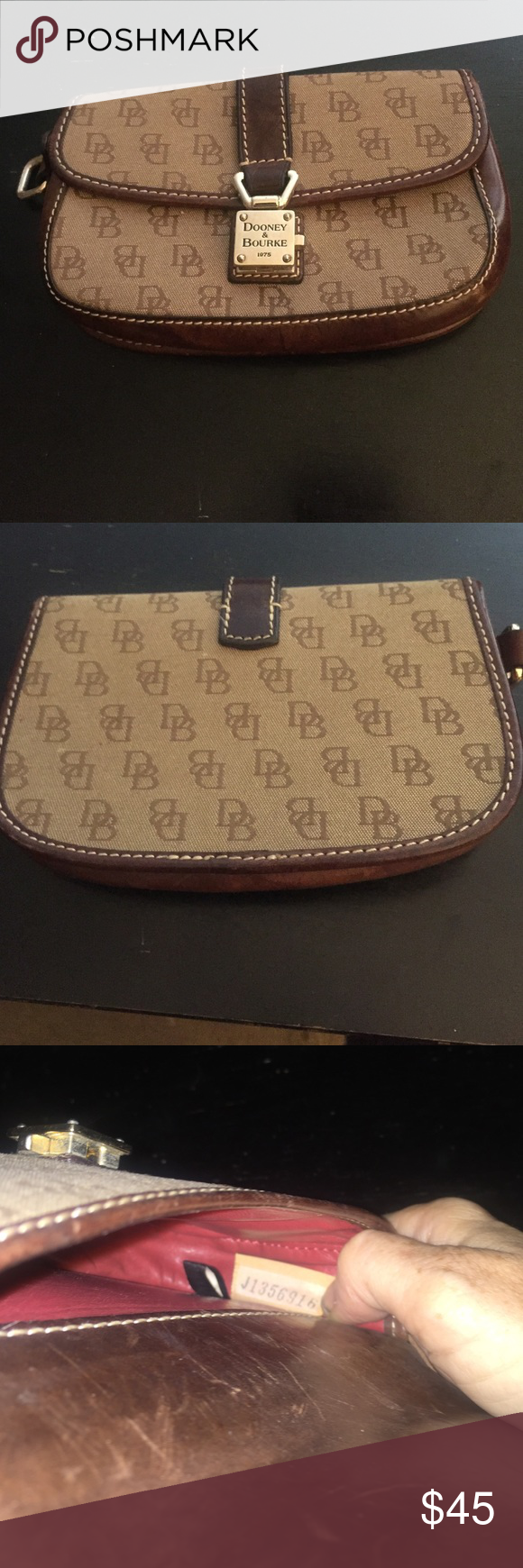 Dooney and Bourke  make up bag Like new condition Dooney & Bourke Bags Mini Bags