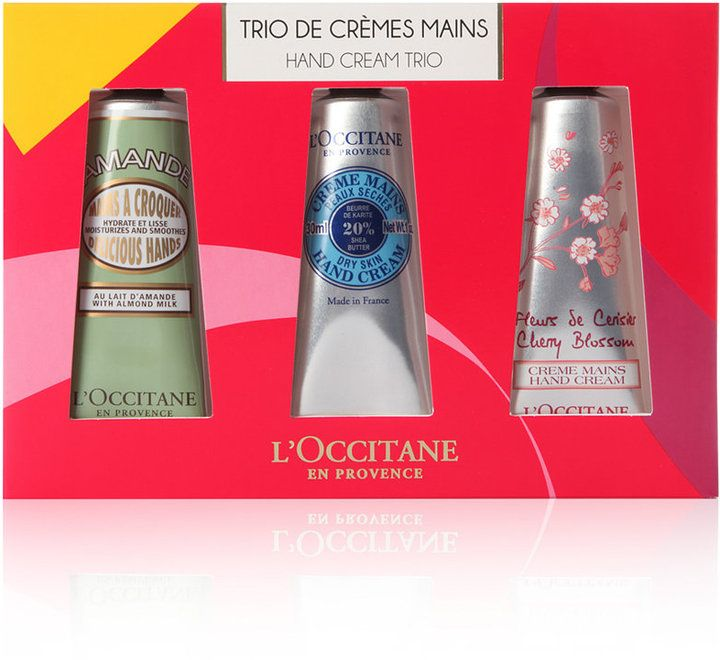 L'Occitane 3-Pc. En Provence Hand Cream Gift Set | Bath Body Gift ...