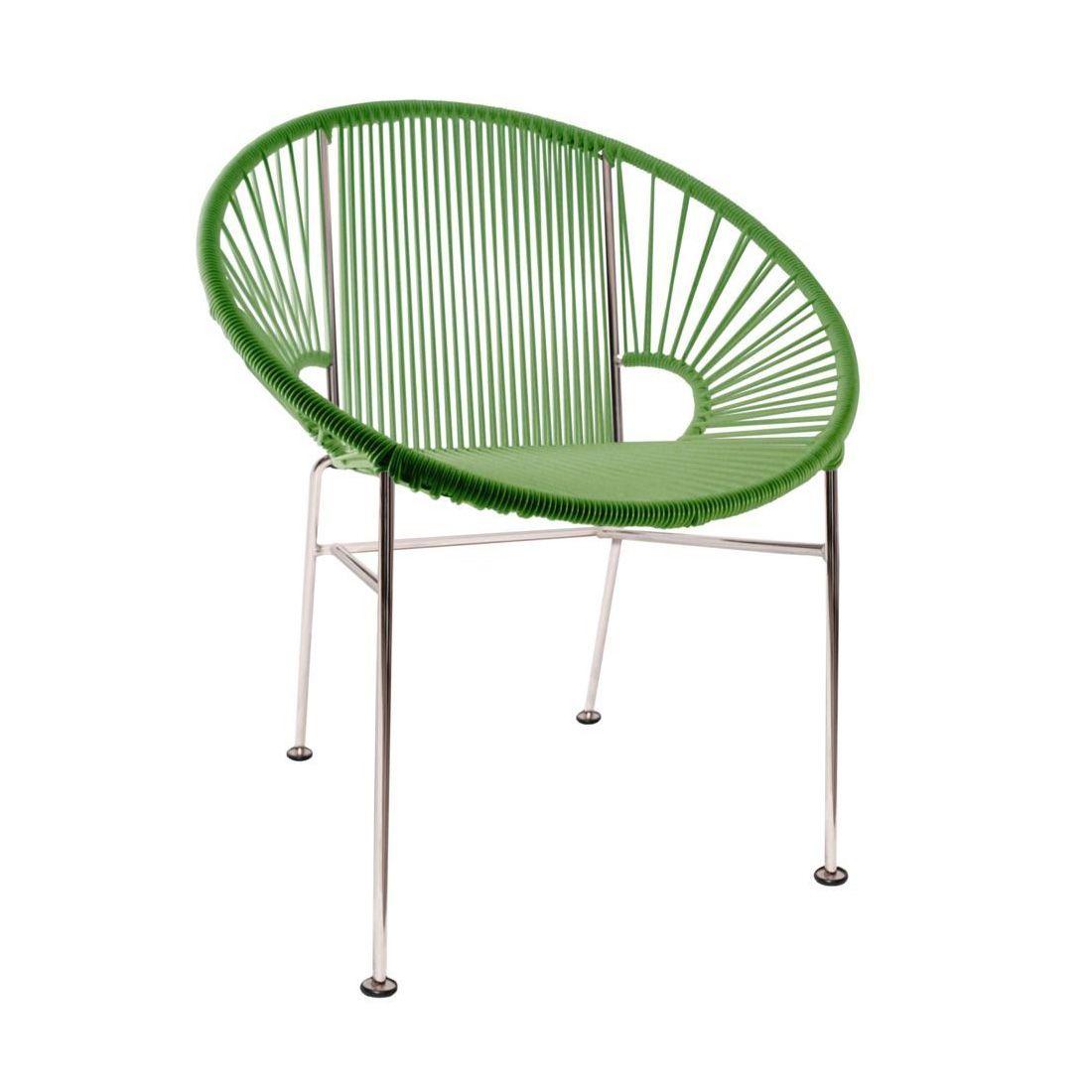 Updated Mayan Hoop Chair In Green Dotandbo Com Chair Outdoor Dining Chairs Dining Chairs