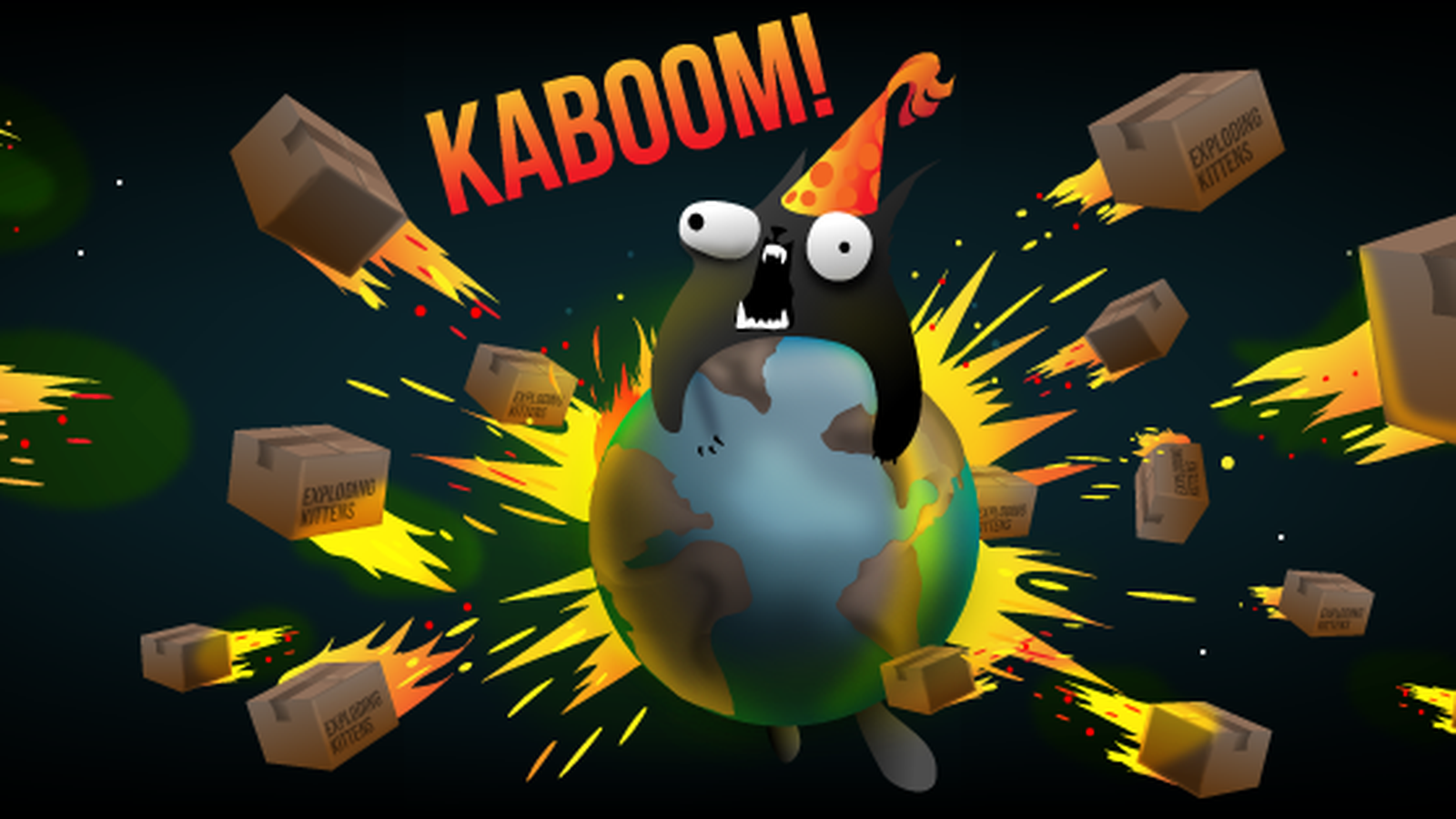 The Oatmeal S Exploding Kittens Card Game Is Now Available On Iphone Exploding Kittens Card Game Exploding Kittens Cute Kitten Gif