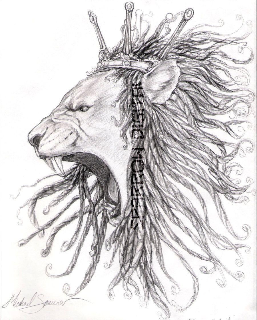 Rastafari Lion Dreads Dread lion supamic deviantart