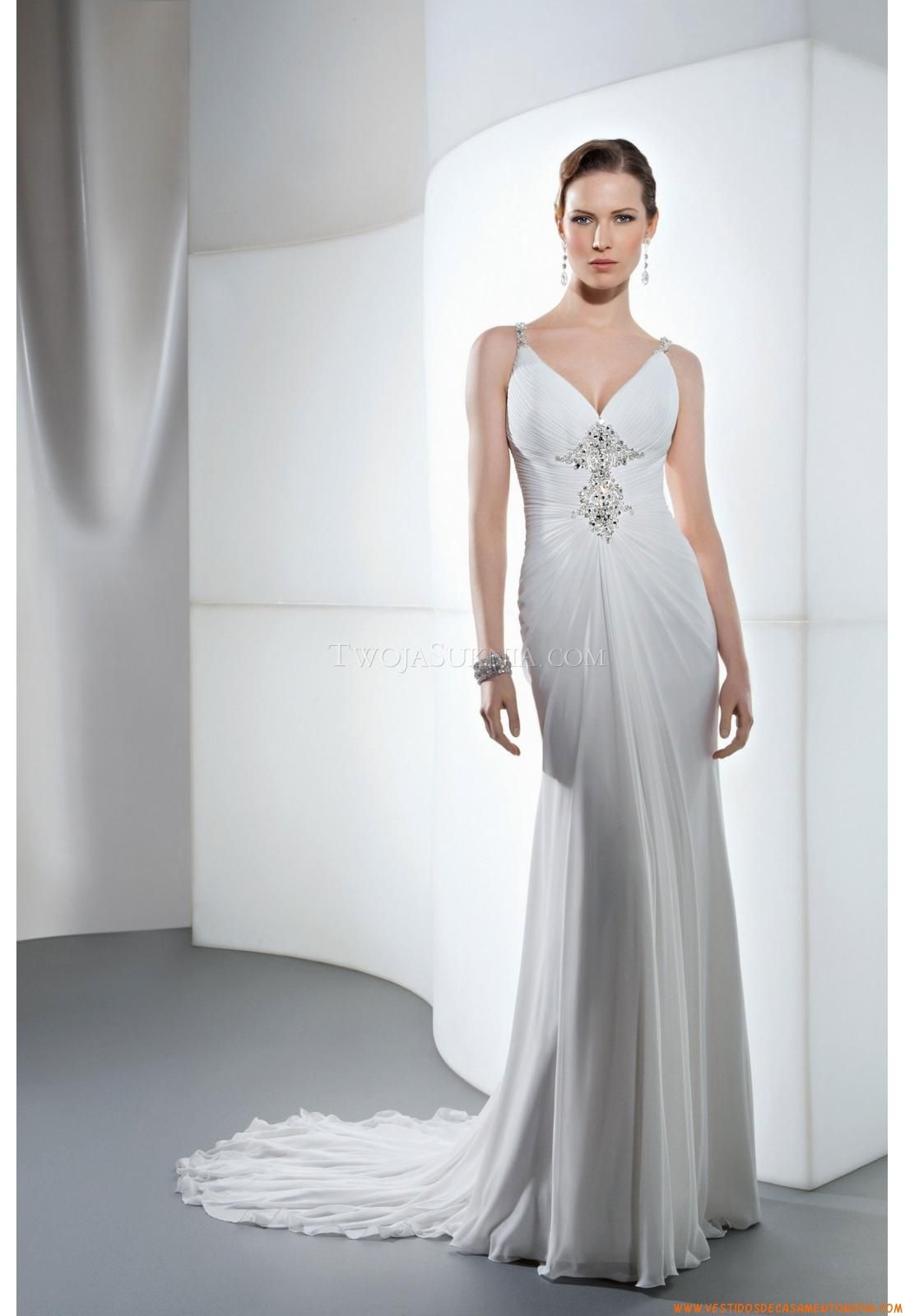 Manga larga vestidos de novia vestidos de novia