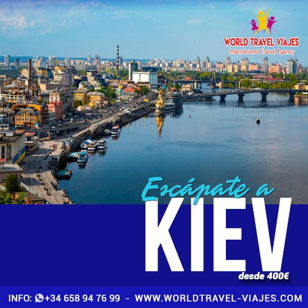 Conoce los encantos de Kiev este verano con #WorldTravelViajes. Las mejores ofertas a los más fascinantes destinos del mundo están aquí.