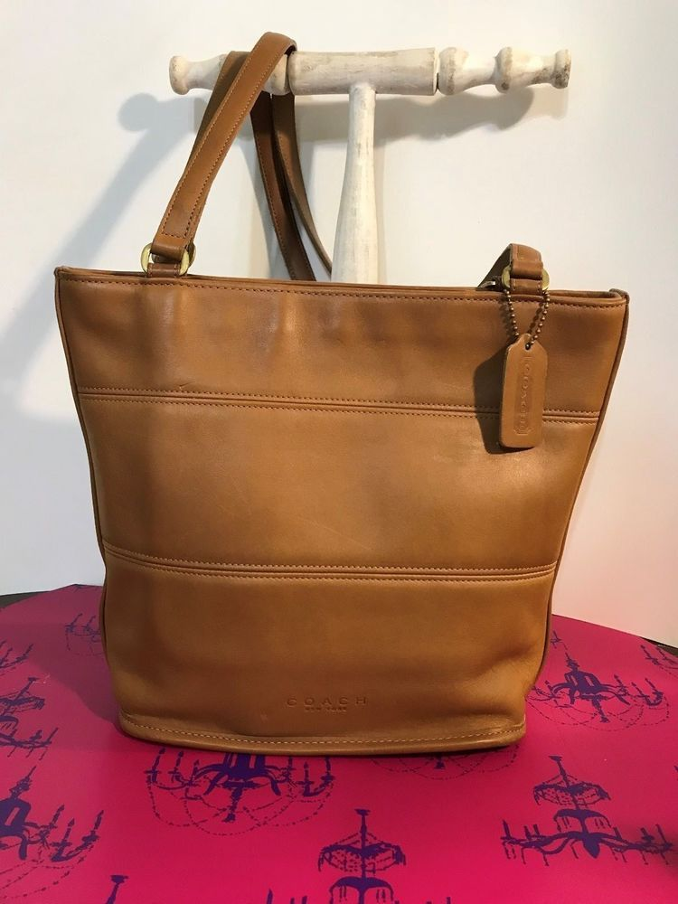 c49dbed5e12 COACH Vintage Tribeca Tote Handbag Style E8C-9098 Medium Tan  fashion   clothing  shoes  accessories  womensbagshandbags