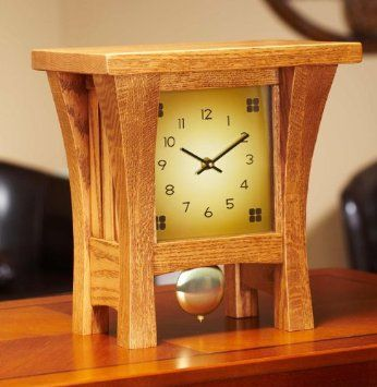 Amazon Com Colton Mantel Clock Kit Desk Clocks Wooden Clock