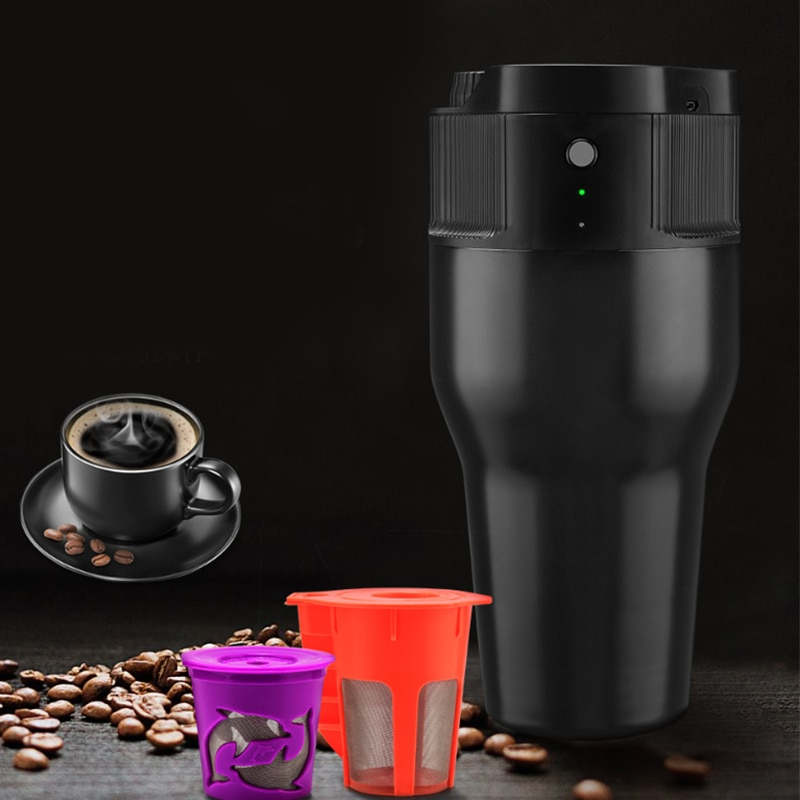 Photo of 500Ml Mini Electric Coffee Maker Auto Usb Coffee Cafe Filter Coffee Machine Extraction