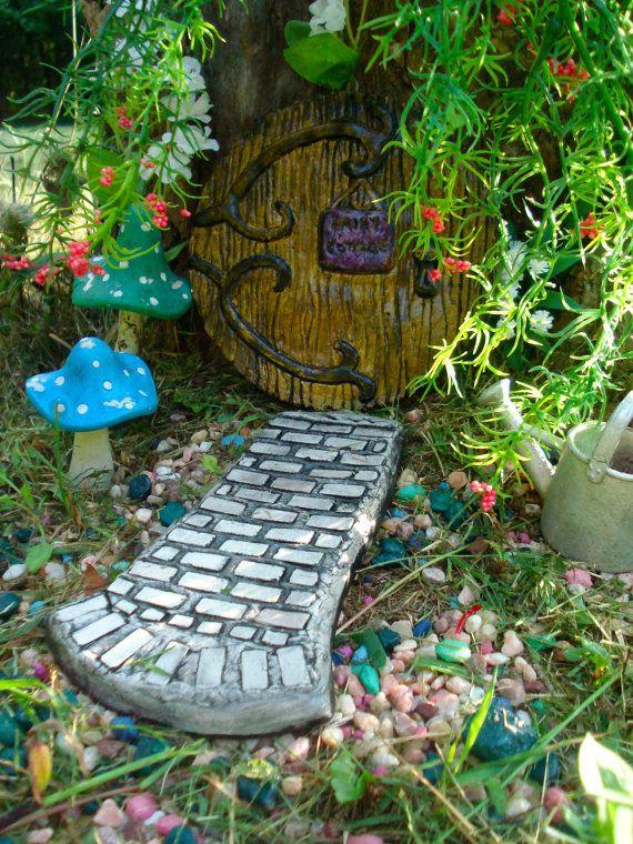 Fairy garden pathway magic garden unique garden gifts whimsical