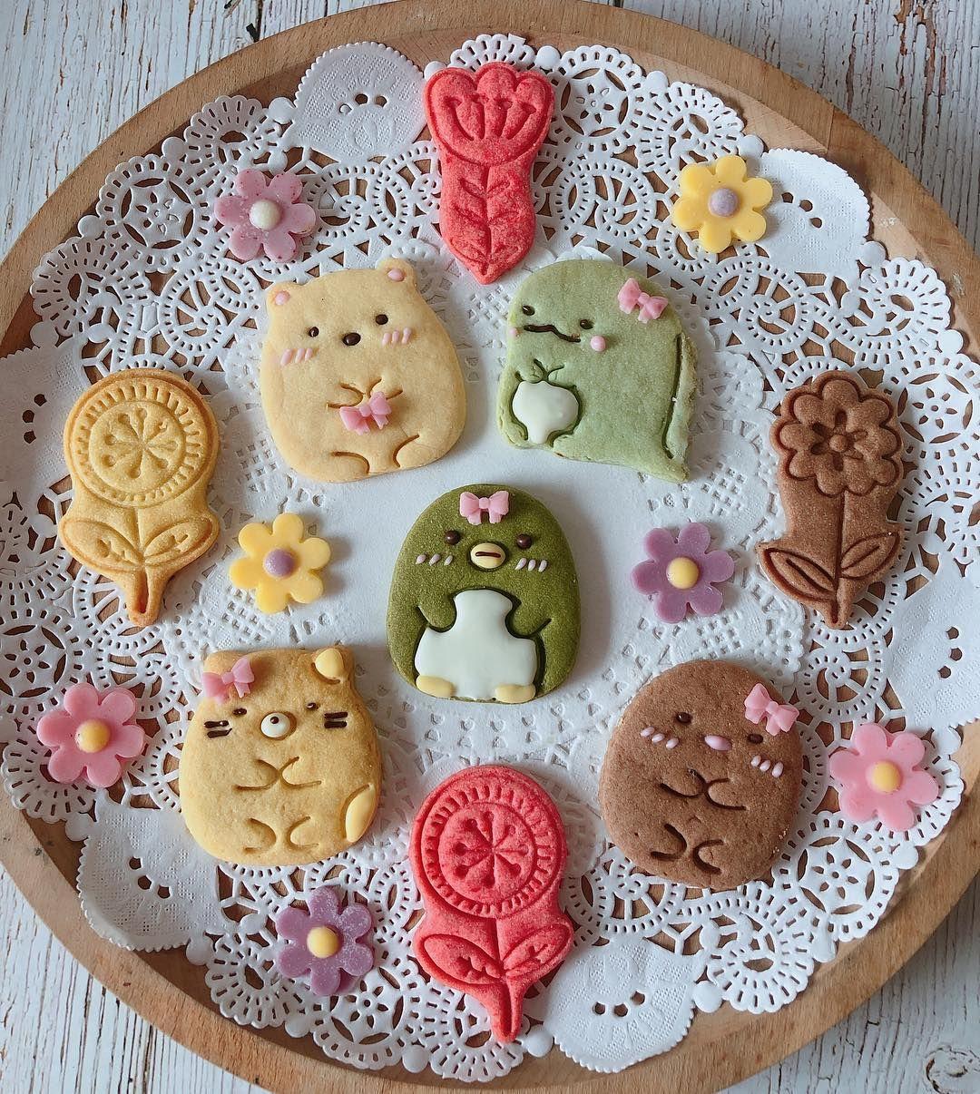 Amanda S Homemadeさんはinstagramを利用しています 參加party的角落 戴上蝴蝶結 超可愛的 Sumikkogurashi Cookies Party Bow Kawaiifood Cutefood クッキー クッキー缶 手作りケーキ 2020 春のお菓子 カワイイデザート 手作りケーキ