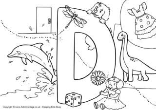 I Spy Alphabet coloring pages...all the letter of the