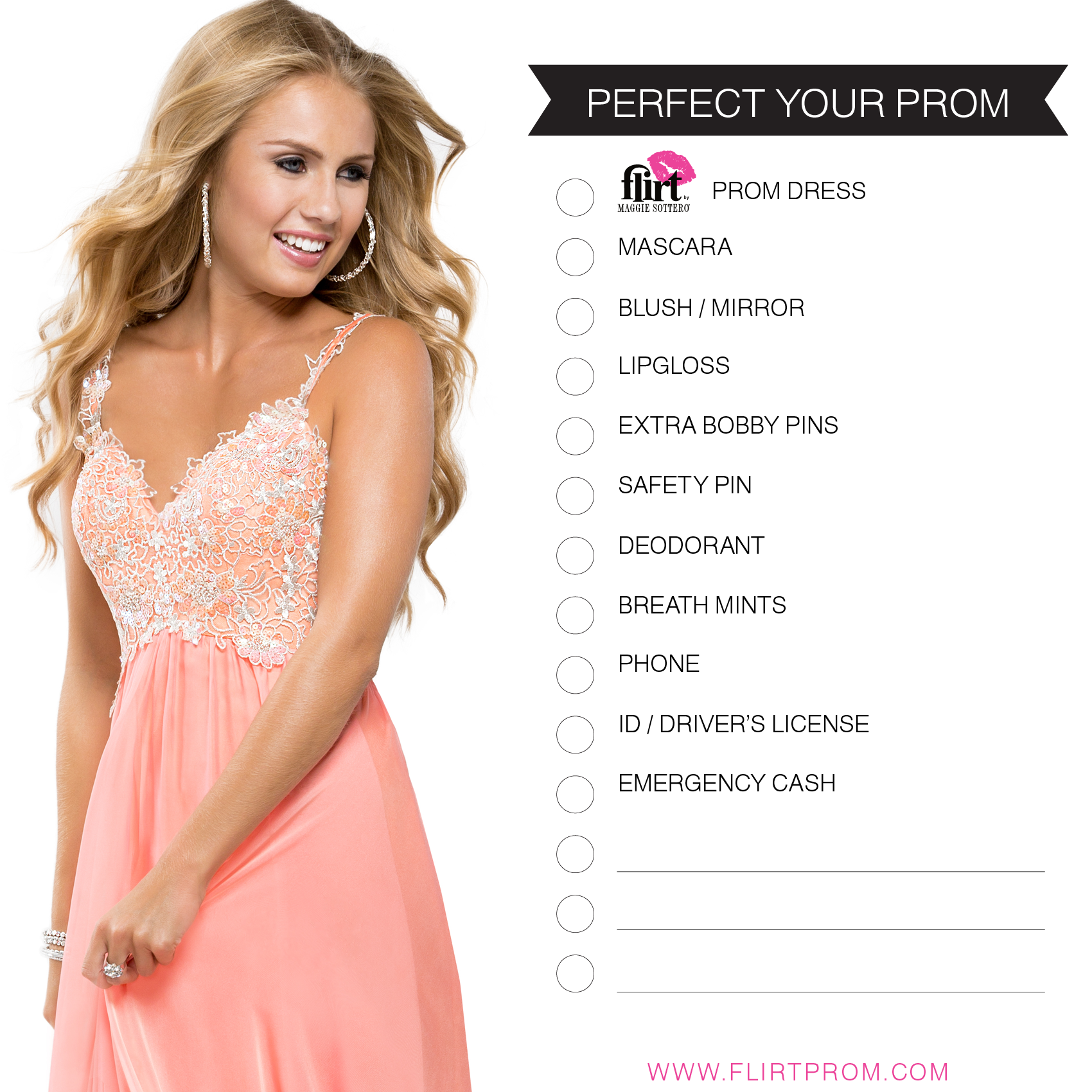 Pin by Maddi Jenkins on Prom | Pinterest | Prom checklist, Prom ...
