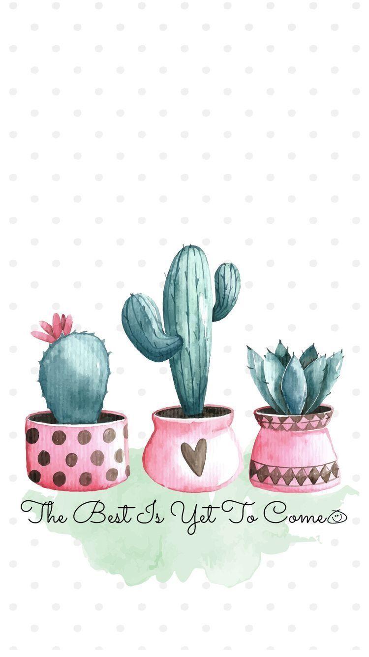 Fondos Cactus Smartphone Wallpaper November Wallpaper Cute Wallpapers