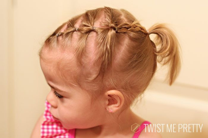 Don T You Think This Is The Cutest Toddler S Up Do Ever