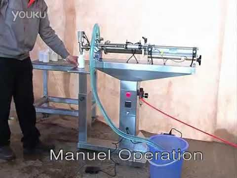 Semi auto liquid filling machine ,water bottling equipment