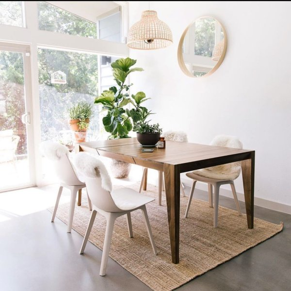 Anderson Solid Wood Expandable Dining Table Carob West Elm Modern Dining Room Table Decor White Dining Room Table Wood Dining Room Table