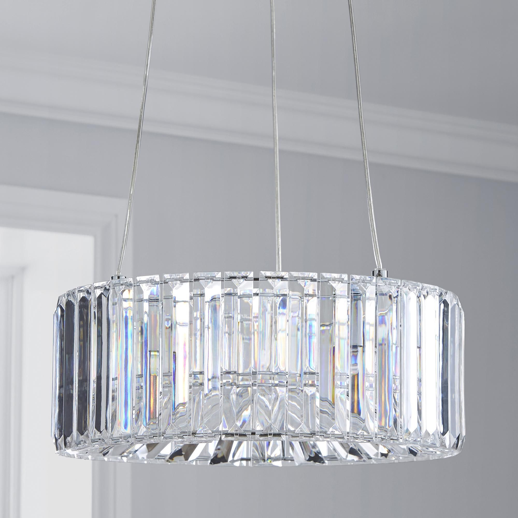 Dunelm Valentine Sparkling Crystal