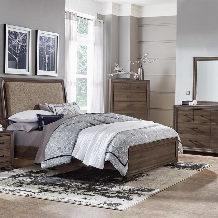 Clarksdale Bedroom King Uph 5 Piece Bedroom Set in 2018 Bedroom