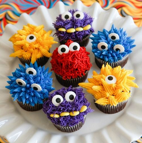 Little Monster Birthday Party Ideas – fun decoration and sweets ideas for baby & toddler monster parties