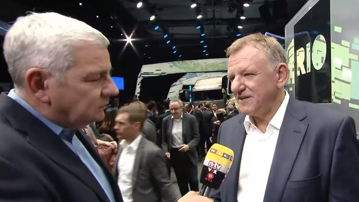 Innovation für Nutzfahrzeuge:VW-Vorstand Renschler erklärt das ...