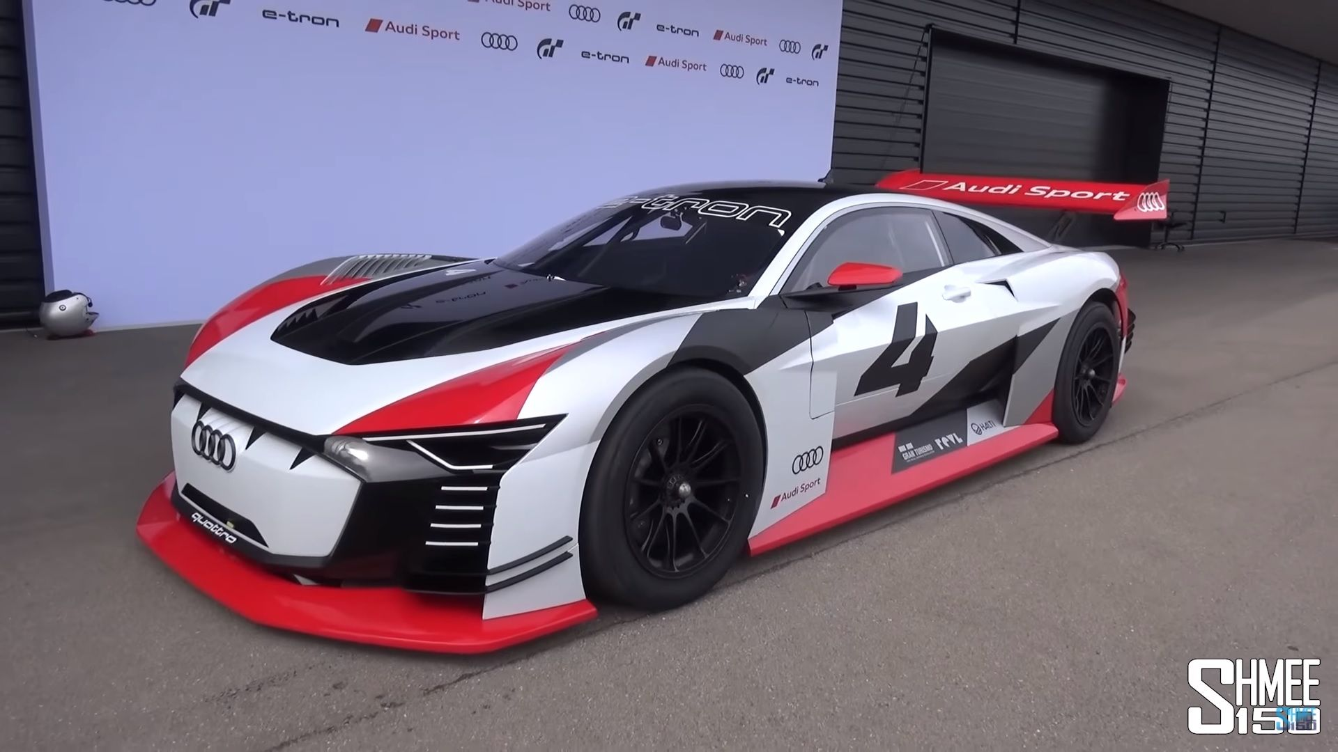 Audi Turned The E Tron Vision Gran Turismo Concept Into A Real Life Drivable Track Car