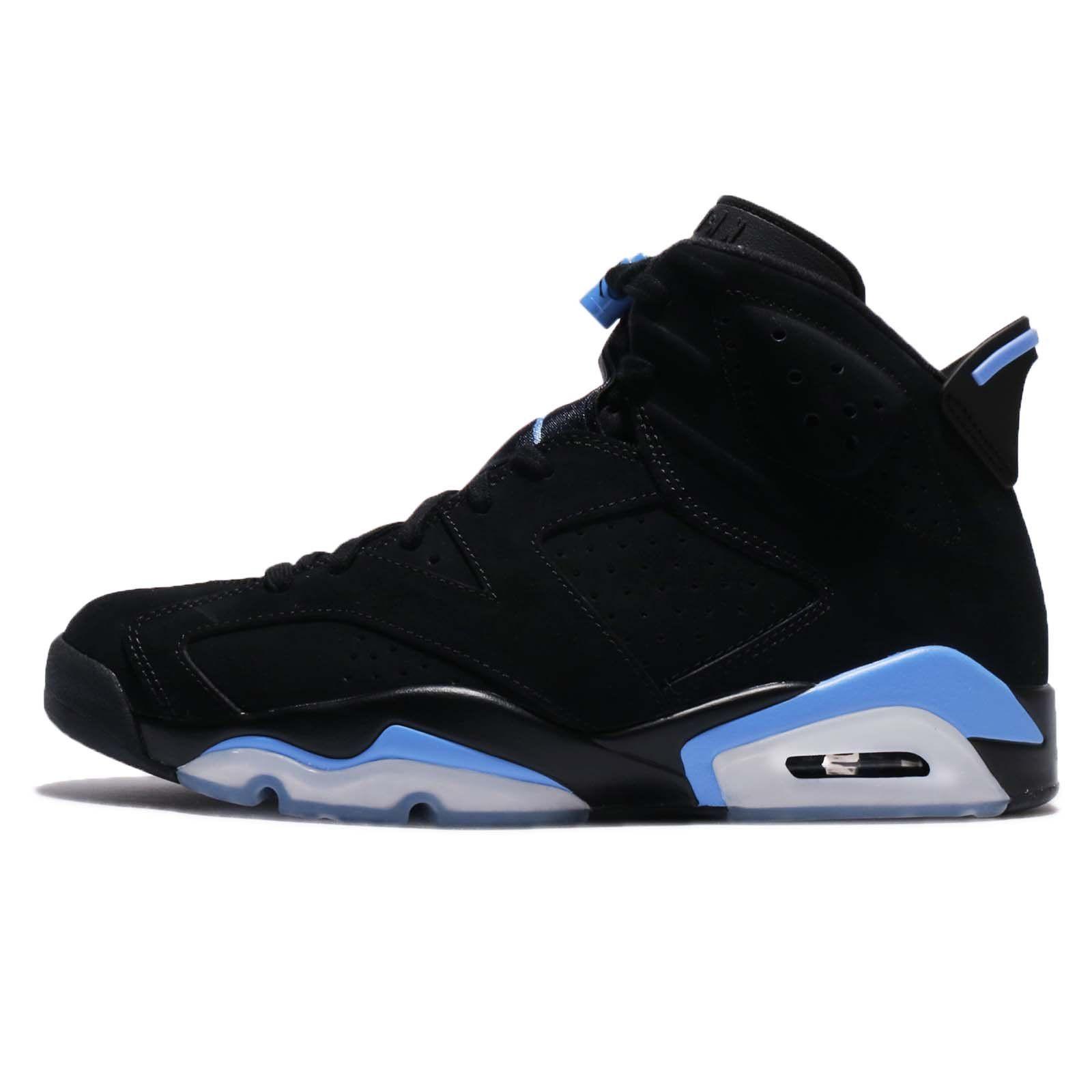 Jordan Retro 6 Unc Black University Blue 8 Us Learn More By Visiting The Image Link This Is An Affili Jordan Shoes For Men Air Jordans Retro Jordan Retro