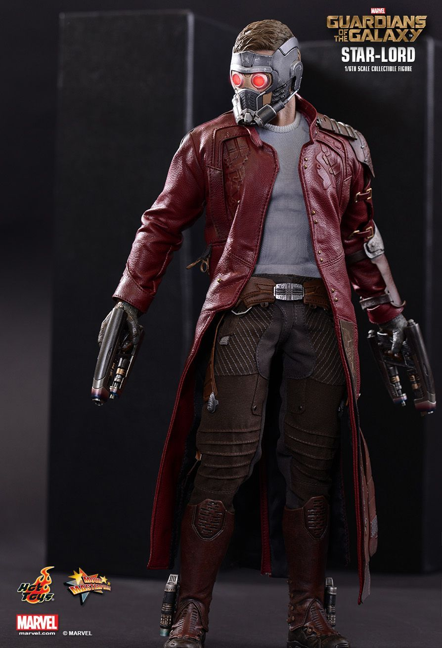 Hot Toys : Guardians of the Galaxy - Star-Lord 1/6th scale ...