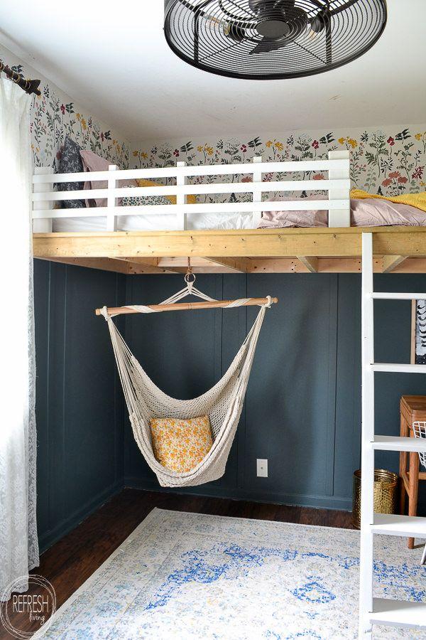 Photo of Easy to Build DIY Loft Bed
