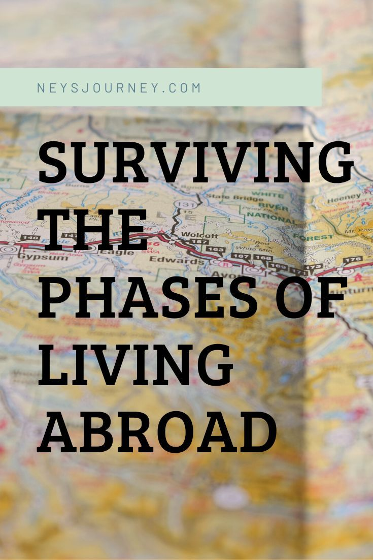 Surviving the Phases of Living Abroad