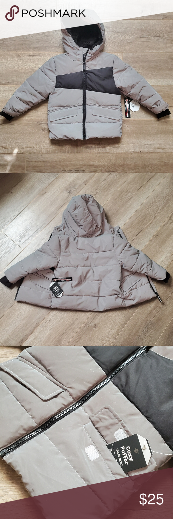 Toddler Reflective Thick Cozy Puffer Jacket 2t Puffer Jackets Puffer Toddler [ 1740 x 580 Pixel ]
