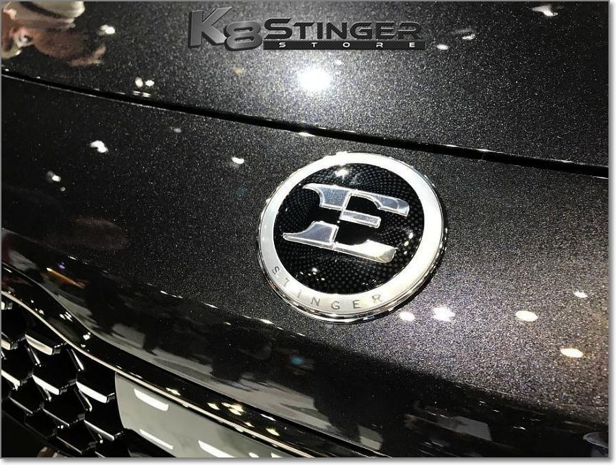 Kia Stinger OEM Kia stinger, Volkswagen logo, Badge