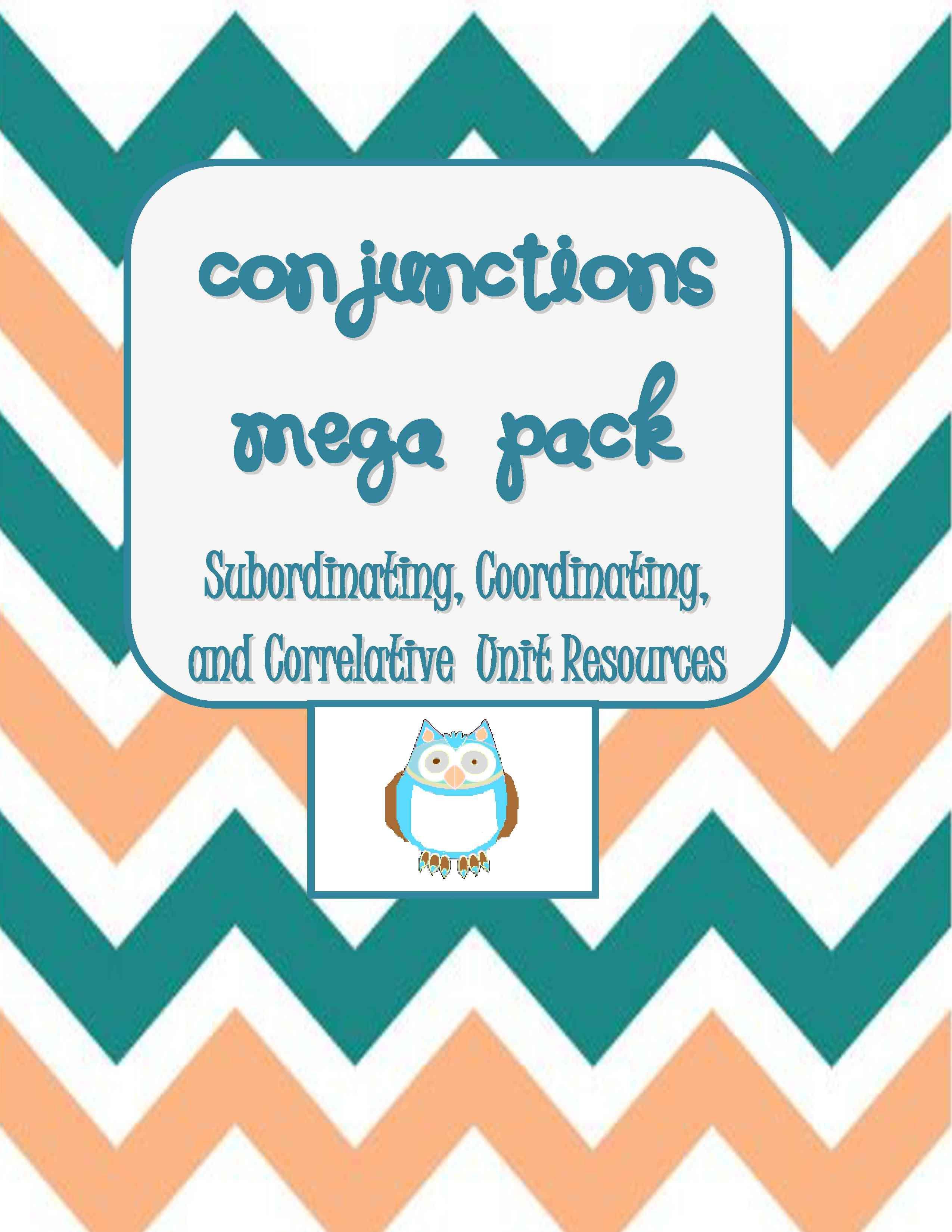Conjunctions Mega Pack Help W Compound Amp Complex Sentences Teaching