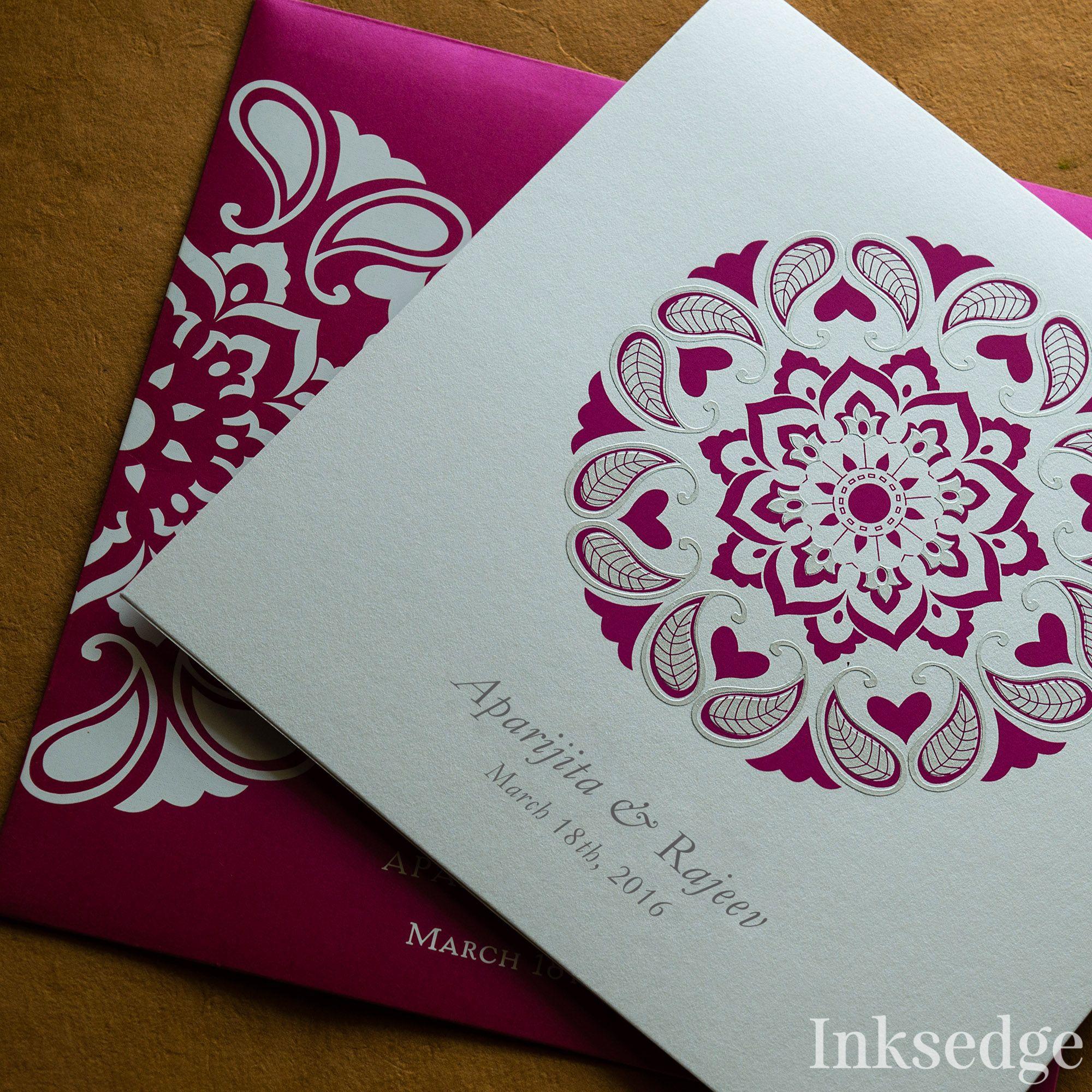 Regal Carousel Premium Screen Printed Wedding Invitation Card Design Designer Cards Inksedge Inksedgeweddinginvitations: Screen Printed Wedding Invitations At Websimilar.org