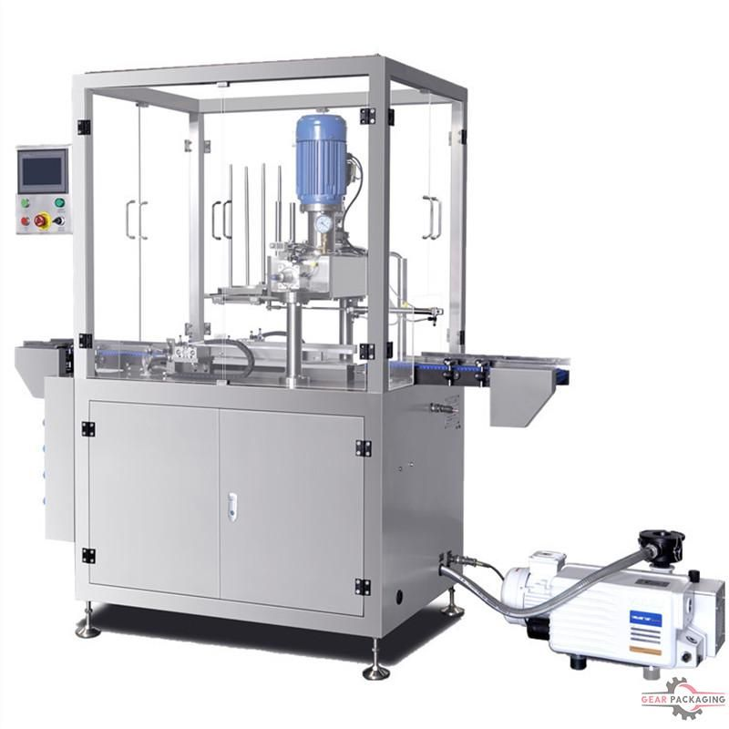 Vacu… | Vacuum cans sealing machine with nitrogen gas