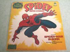 Sealed Vinyl Record ~ Spidey Super Stories ~ 8 Adventures (1977) Peter Pan