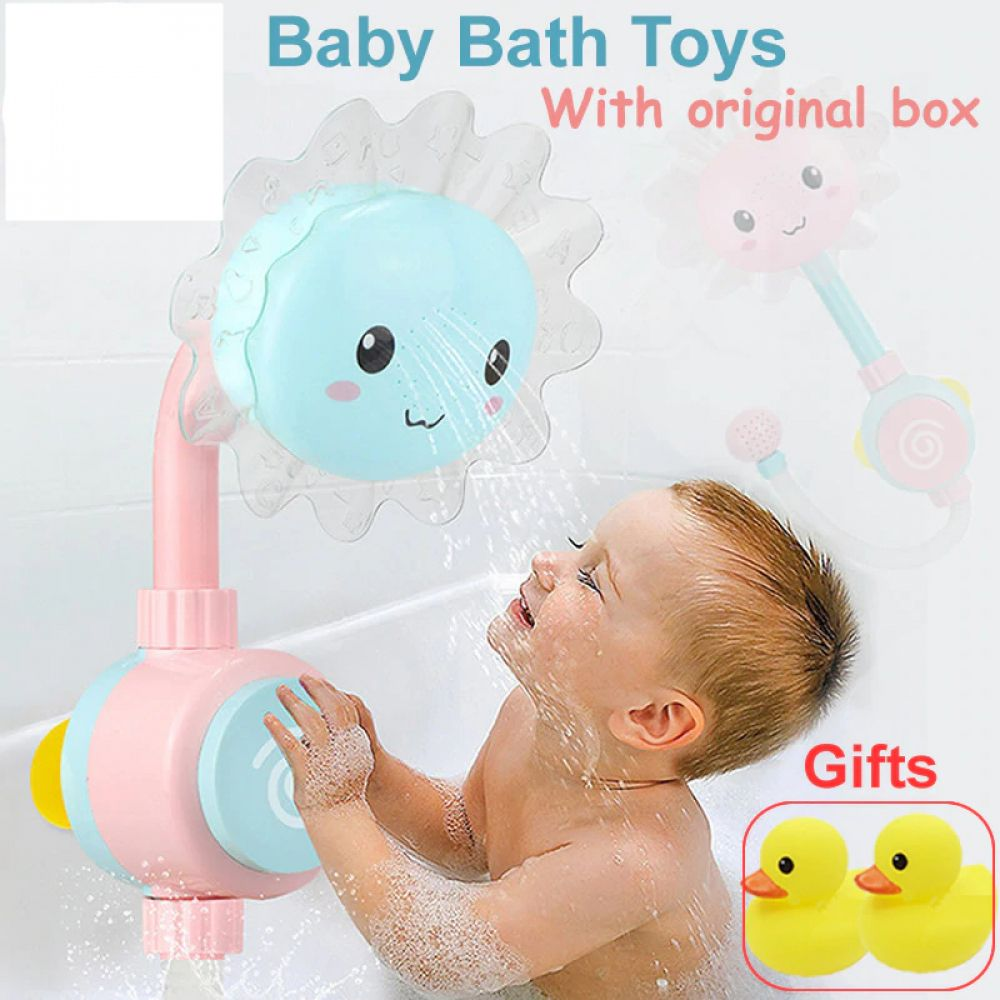 Baby Flower Shower Kids Water Toys Baby Bath Toys Bath Toys