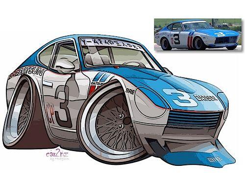 Blue bre z toon bd illustration de voiture dessin voiture et dessin - Coloriage cars toon ...