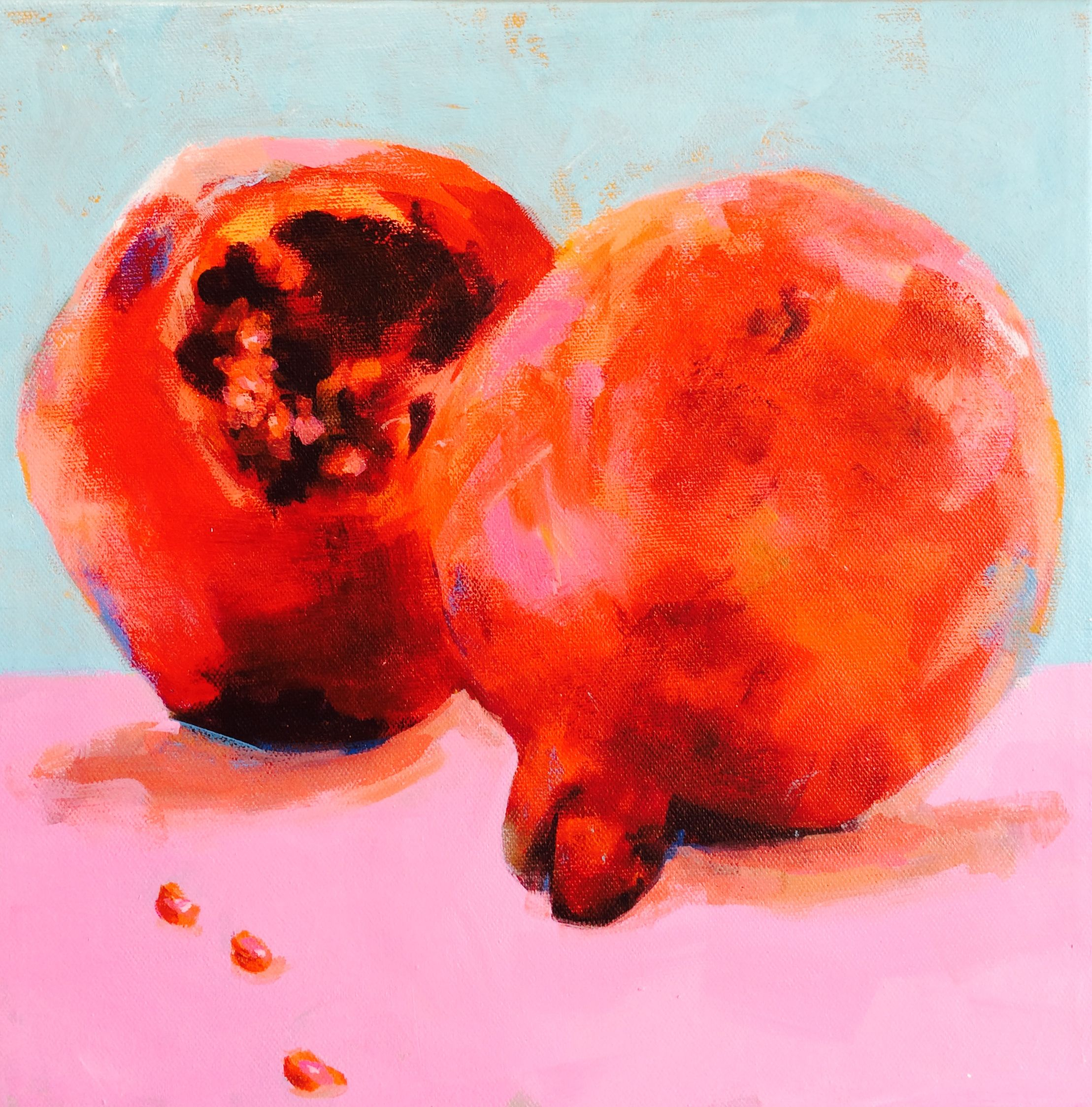 Pomegranates-square