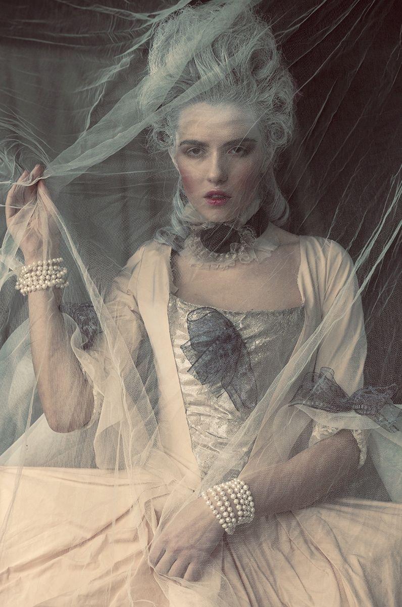 """Marie Antoinette"" photo: Jakub Gulyás dress: Boris Hanečka hair: Renáta Márová make-up: Zuzka Klimová model: Mária Exit Model Management"