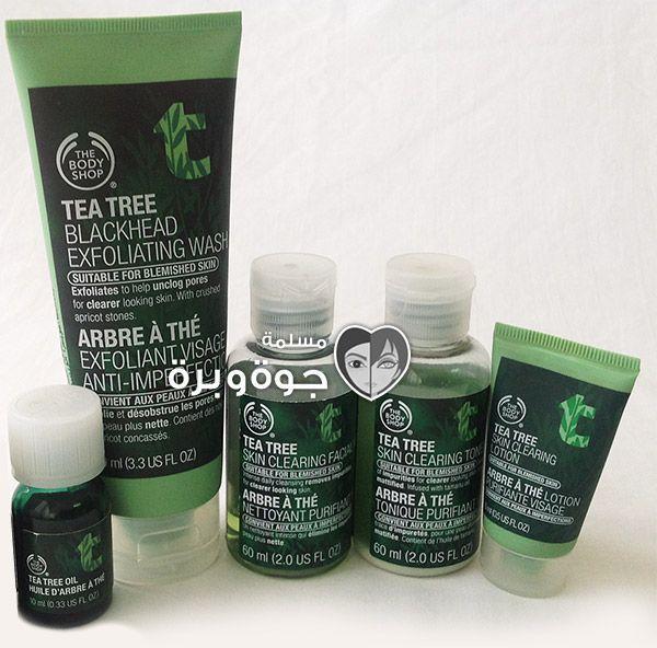 مجموعة شجرة الشاي من The Body Shop Body Shop Tea Tree Skin Tea The Body Shop