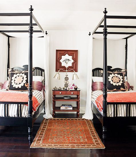 British Colonial Bedroom: British Colonial Style With Beds That Are Simplied Version