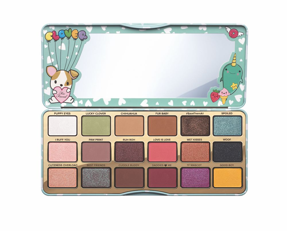 Too Faced Finally Showed Us What The Clover Palette Looks Like And It Will Melt Any Animal Lover S Hea Eyeshadow Palette Too Faced Eyeshadow Eyeshadow Palette