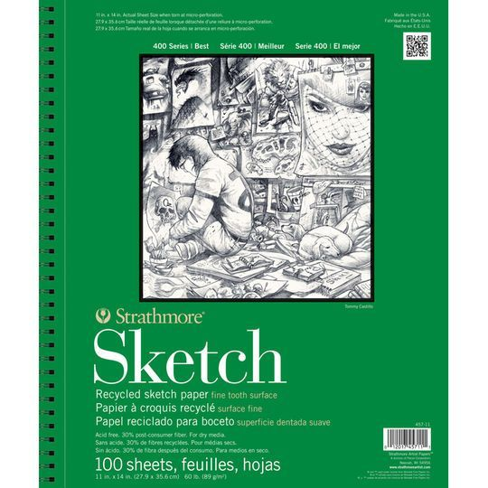 Strathmore 400 Series Recycled Sketch Pad