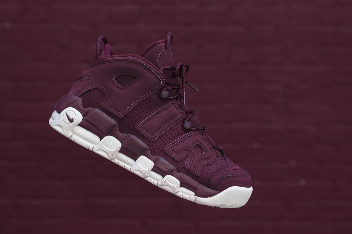 newest 8d3bd ebcd7 Nike Air More Uptempo  Night Maroon  Quickstrike Release in Europe - EU  Kicks  Sneaker Magazine