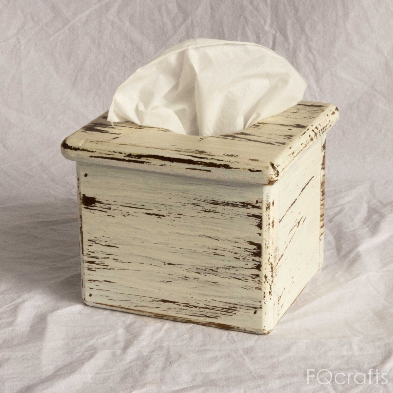 Unpainted Wooden Tissue Box// Rectangle Box //Cube Tissue// Craft Decorate Paint