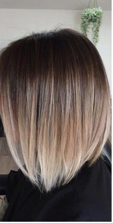 50 Hair Color Ideas For Short Hair  Color Inspirations for 2019 Hair Color For #shorthairbalayage #darkblondehair